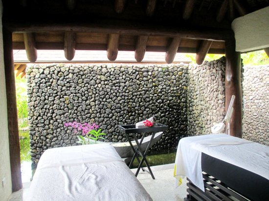 Tokoriki Island Resort:                   The Spa
