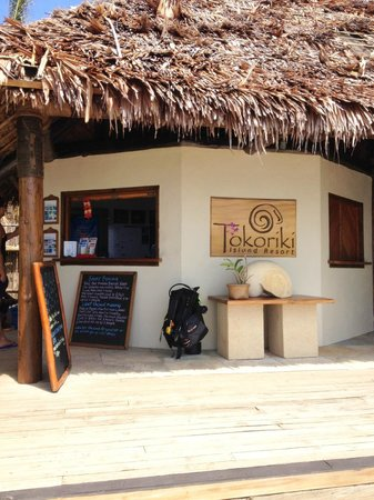 Tokoriki Island Resort:                   Dive Shop