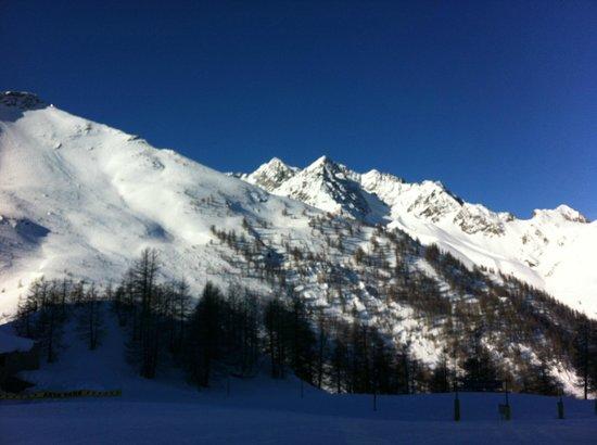 Club Med Serre-Chevalier:                                     la montagne