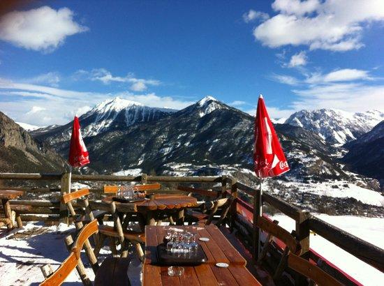 Club Med Serre-Chevalier:                                     encore la montagne