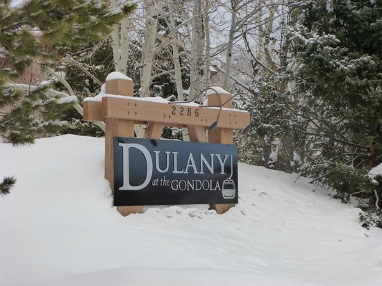 Dulany at the Gondola Condominiums: Dulany Sign