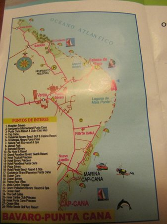 Grand Palladium Punta Cana Resort & Spa: Map