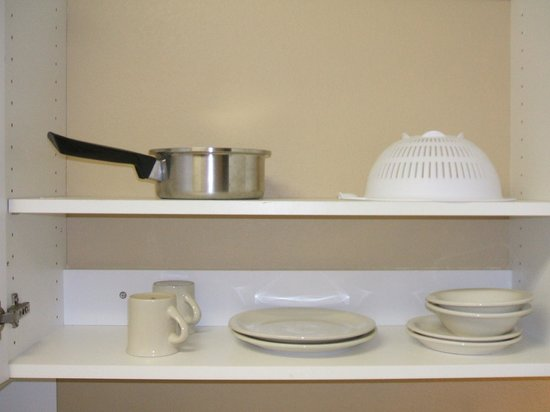 Extended Stay America - Tampa - Airport - Spruce Street:                   The one pot for cooking