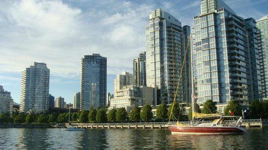 False Creek: View from the ferry