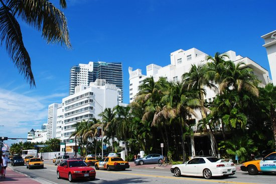 on collins av.: fotografía de collins avenue, miami beach