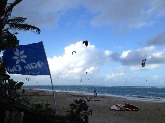 Kite Club Cabarete:                   the view at kite club
