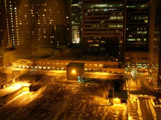 Hotel Bonaventure Montreal: View