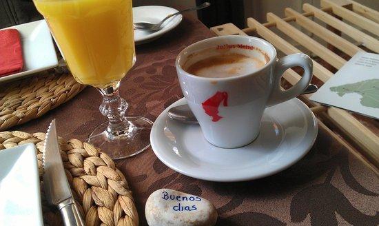 Hotel Villa Palmer: Frühstück