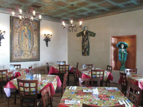 La Posta de Mesilla: One of the many dining rooms