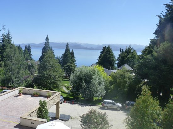 Hotel Villa Huinid Bustillo: hermosa vista desde la habitacion....