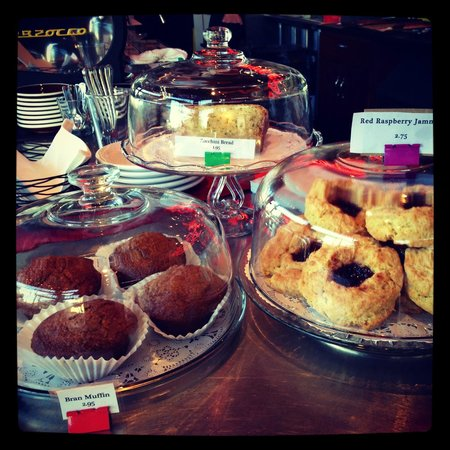Street 14 Cafe: Selection of pastries, made daily in house.
