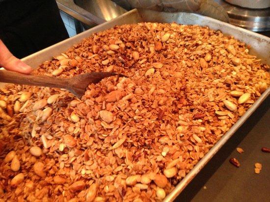 Street 14 Cafe: Housemade Almond Granola!
