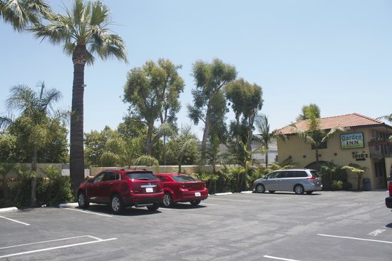 Garden Inn & Suites: East view