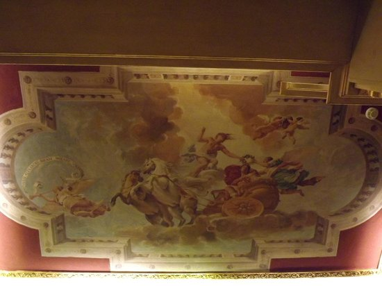 Hotel Romanico Palace:                   Ceiling of another room