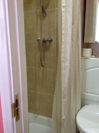 Cherry Court Hotel:                   Shower