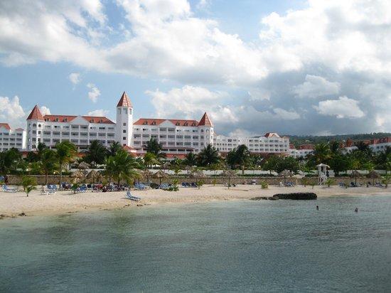 Grand Bahia Principe Jamaica:                                     Vue de l'hotel