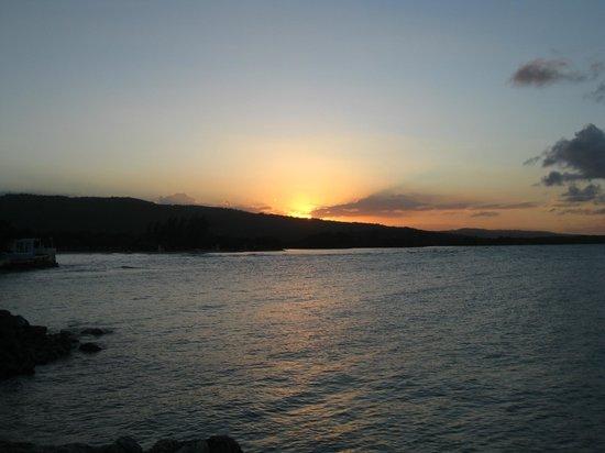 Grand Bahia Principe Jamaica:                                     Coucher de soleil