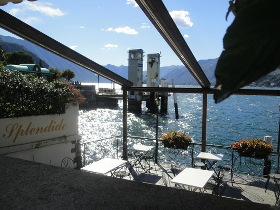 Il Filo d'Olio:                   The views of Como are splendid...the lake is RIGHT THERE!!!