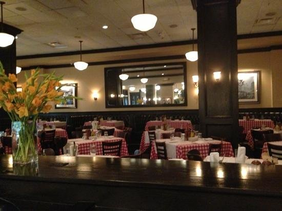 Maggiano's Little Italy: another view of the dining room