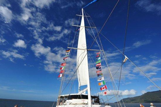 Ocean Spirit Cruises: The Ocean Spirt Catamaran
