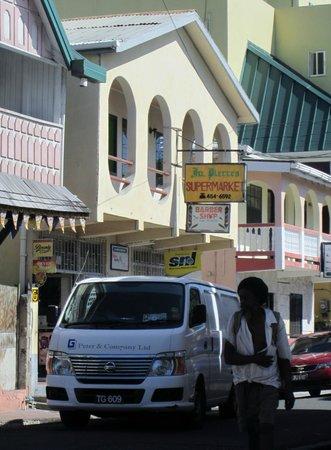 Mirage Beach Resort :                   Laborie Supermarket