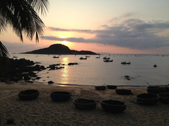Haven Vietnam:                                     A sunrise view from Haven. Photo by Erika Delemarre.