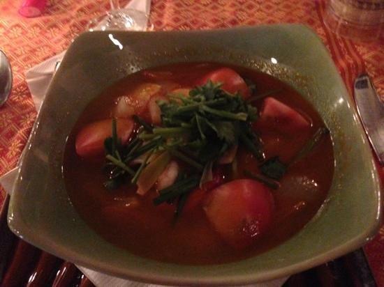 Maya cuisine & Lounge by Jeanette :                   soup