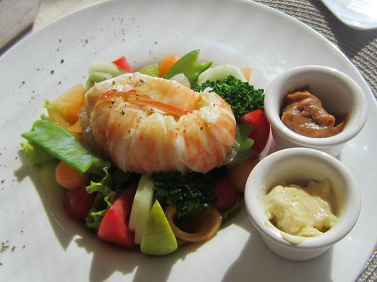 Catherines Cafe Plage: The superb Lobster Salad