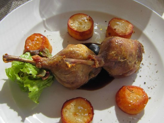 Catherines Cafe Plage: Duck Leg Confit