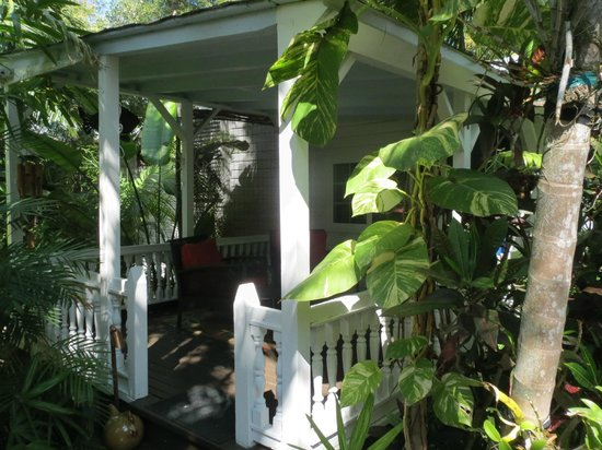 The Mermaid & The Alligator:                   Bamboo Room Porch