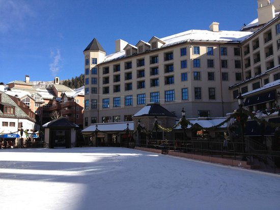 Park Hyatt Beaver Creek Resort and Spa: From the Ice Rink