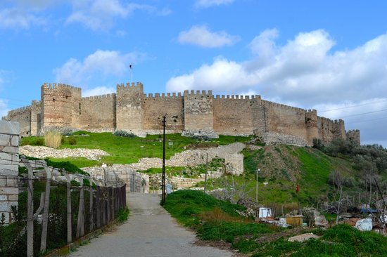 Just from outside the wall - Picture of Ayasoluk Castle ...