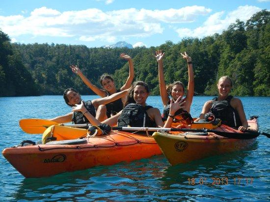 Kayak Soul:                   Disfrutando el Parque Nac. Los Alerces desde otro angulo.
