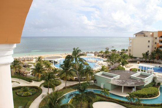 Iberostar Rose Hall Suites:                   View from room to ocean
