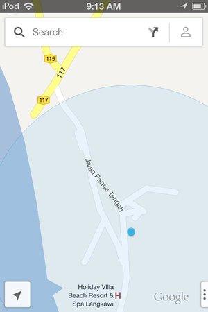 إن أر لانكاوى موتيل: map