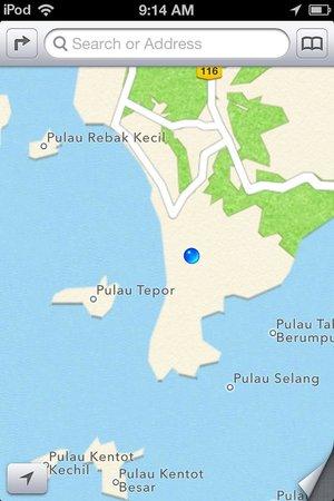 NR Langkawi Motel : map