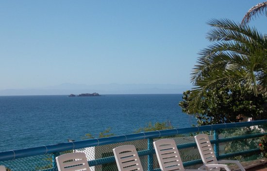 Flamingo Beach Hotel: Vista desde la habitación