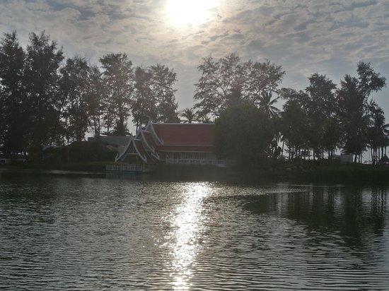 Angsana Laguna Phuket:                   View from boat jetty