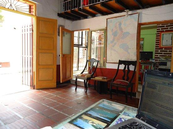 Hotel Miramar: Recepcion