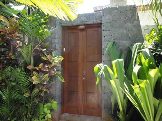 The Dipan Resort Petitenget:                   One Bedroom Villa 106 - Main Door