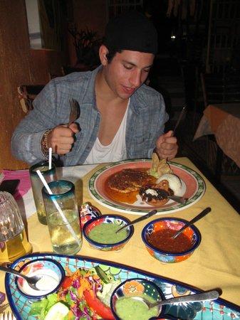 Cabo Inn Hotel:                                                       dinner