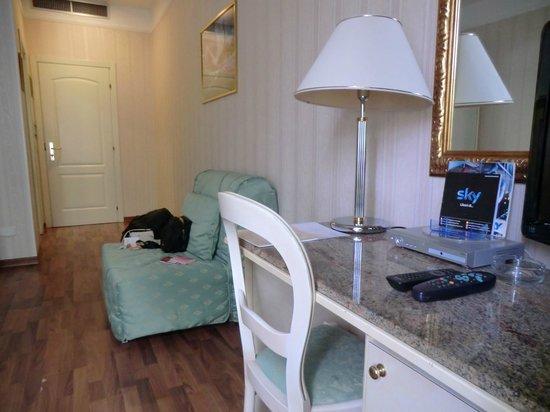 Hotel President:                   Комната красивая и уютная