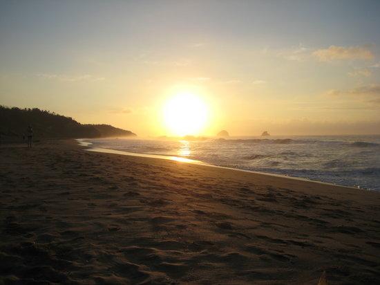 La Mora Posada:                   Sonnenaufgang direkt vor der Tür