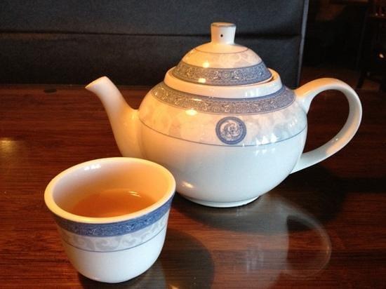 China Cottage: Hot tea