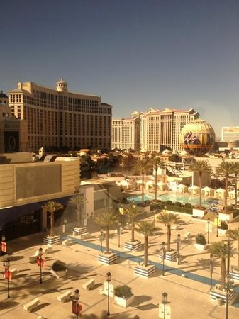 Planet Hollywood Resort & Casino:                   view from room