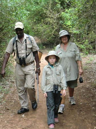 Chilo Gorge Safari Lodge:                                     Sandforest walk with excellent guide Thomas