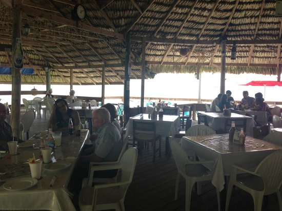 Bird's Isle: An open air palapa right on the water