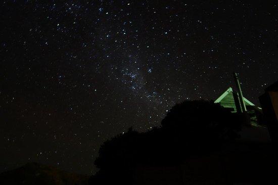 Hahei Oceanfront:                   amazing night sky sitting on patio