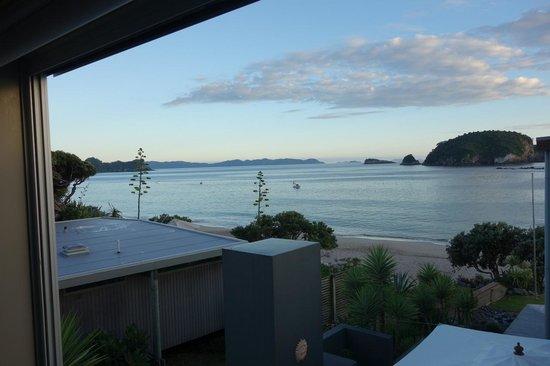 Hahei Oceanfront:                   view from Mahurangi Room