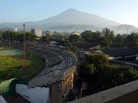 Arusha Crown Hotel: Mount Meru from Room 502 #1
